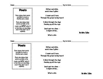 Make an inference for the poem:  Sssssssss