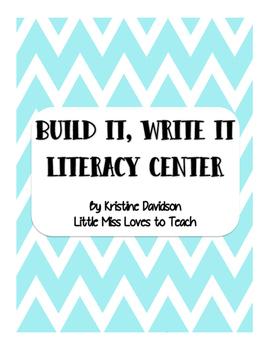 Build it, Write it Literacy Center