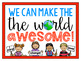 #kindnessnation #weholdthesetruths Make the World Awesome Freebie