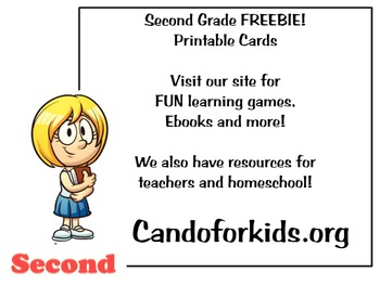 Make your own cards - Second grade