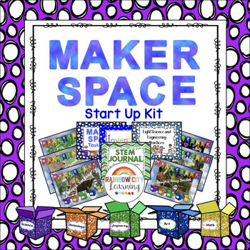 Maker Space Start Up Kit by Rainbow City Learning