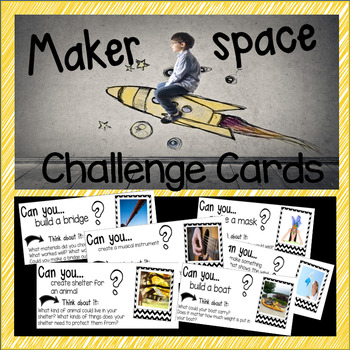 Maker's Space Challenge Cards