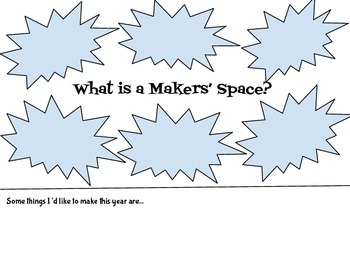 Makers' Space Graphic to Get Started