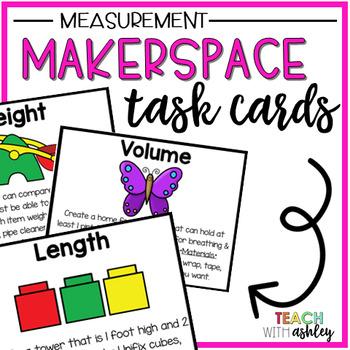 Makerspace Task Cards {Measurement}