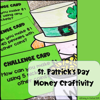 Making $1: St Patrick's Day Math Craftivity