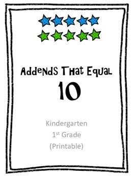 Addends of 10
