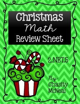 Making 10 Christmas Review Sample