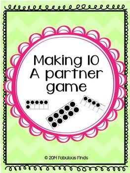 Making 10- a Partner Game