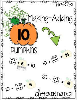 Making-Adding 10 Pumpkins