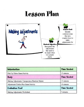 Making Adjustments In Marriage Lesson