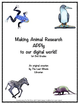 Making Animal Research APPly to our Digital World