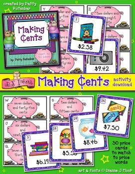 Making Cents Printable Activity