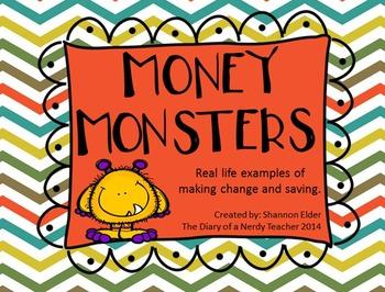 Making Change and Saving Money Task Cards