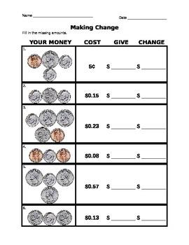 Making Change to $1