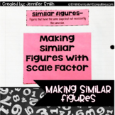 Making, Comparing and Using Similar Figures with Flippable