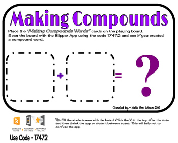 Making Compounds Words Augmented Game - Set 2