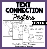 Text Connections Posters- FREEBIE