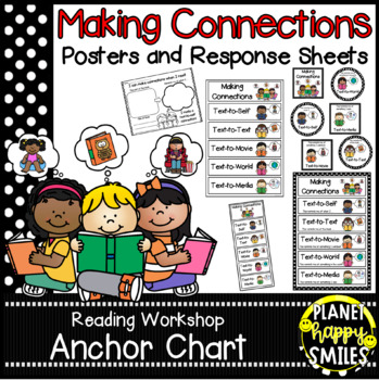 Reading Workshop Anchor Chart ~ Making Connections Posters