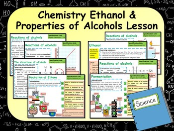 Making Ethanol Lesson
