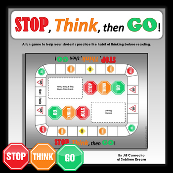 Stop, Think, then Go! game for talking about impulse control
