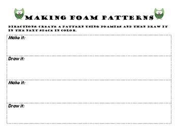 Making Foam Patterns