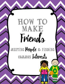 Making Friends   Meeting People