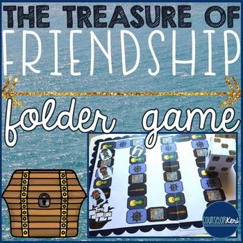 Making Friendships/New Friends Folder Game - Elementary Sc