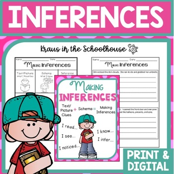 Inferences - Comprehension Reading Skill Practice for Maki