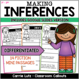 Making Inferences with Fiction 14  Mini - Passages