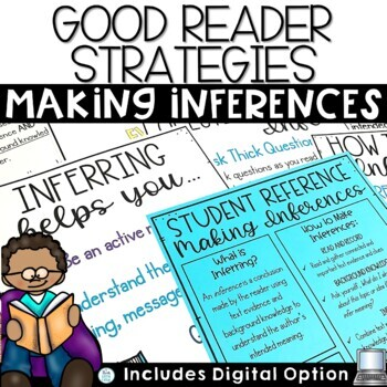 Making Inferences Activities and Inferring Task Cards
