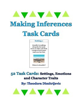 Making Inferences: 52 Grade 5 Common Core RL.5.1 and RI.5.