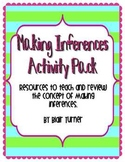 Making Inferences Activity Pack