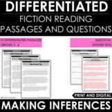 Making Inferences | Inferring: Differentiated Reading Pass