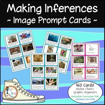 Making Inferences ~ Image Prompt Cards ~ 130 Cards PLUS more!