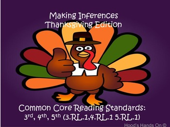 Making Inferences - Thanksgiving Edition