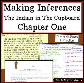Making Inferences from The Indian in the Cupboard: Evaluat