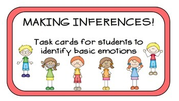 Making Inferences on Emotions: Group Task Cards