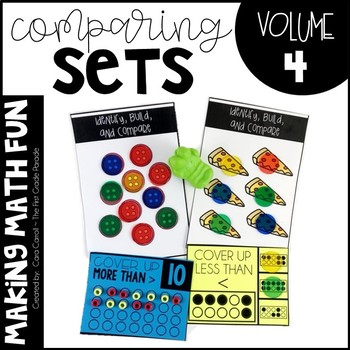 Making Math Fun Volume 4 - Comparing Sets & Making 10