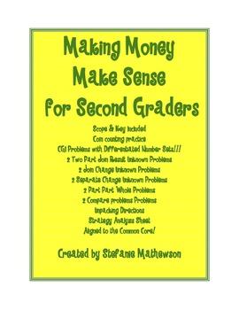 Making Money Make Sense for Second Graders