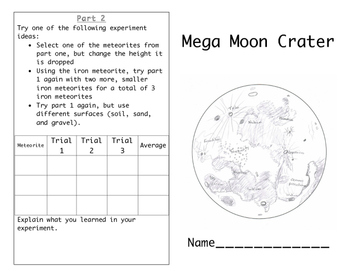 Making Moon Craters