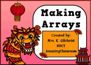 Making Multiplication Arrays SMARTBOARD Lesson