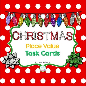 Christmas Theme Place Value