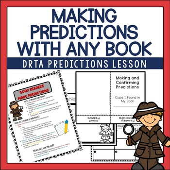 Making Predictions Anchor Chart and Foldable Activity for