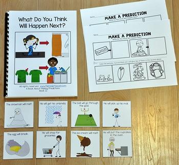 Making Predictions:  Making Predictions Adapted Book 2