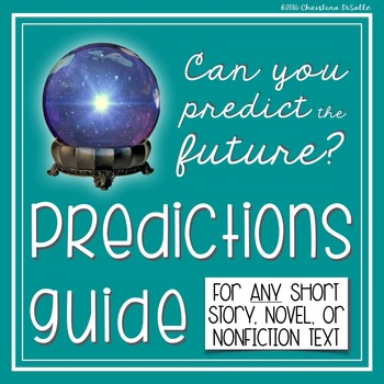 Making Predictions Mini Lesson