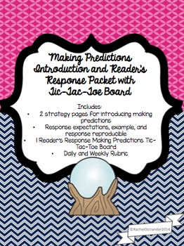 Making Predictions Introduction with Reader's Response Tic