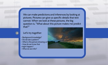 Making Predictions and Inferences Through Pictures (Predic