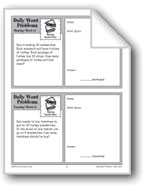 Making Sandwiches (Grade 4 Daily Word Problems-Week 11)
