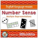 Number Sense - Subitizing and Multiple Representations