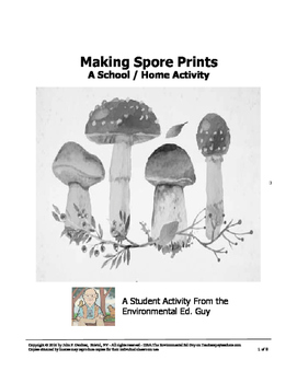Making Spore Prints